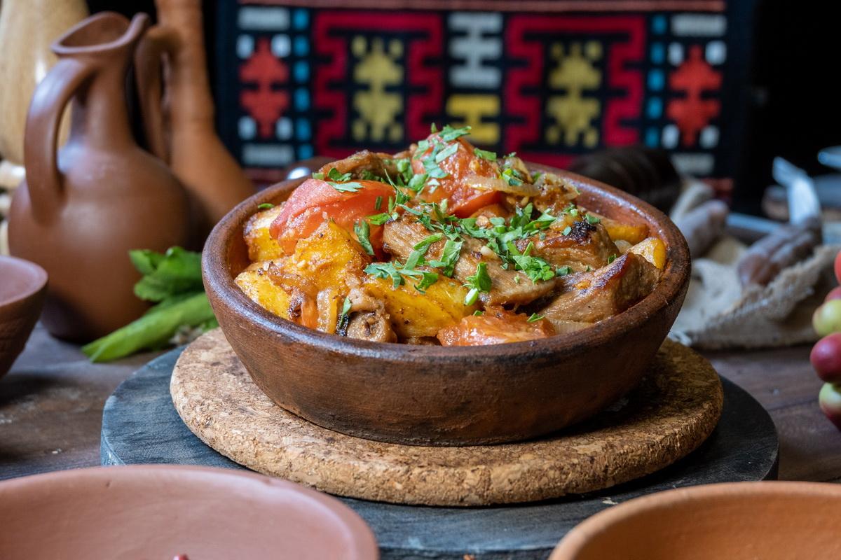 Оджахури (баранина с картофелем)
