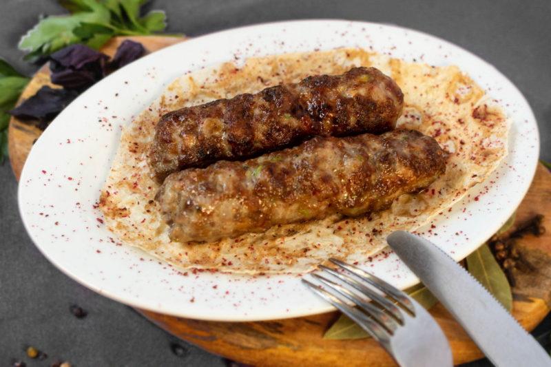 Люля-кебаб (свинина, говядина)