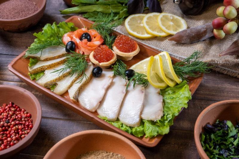Рыбное ассорти